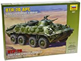 Zvezda Models BTR-70 APC Afghanistan Model Kit