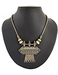 Archiecs Creations Gold Plated Strand Necklace For Women (Handi_173)