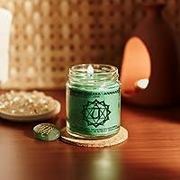 Resonance Meditation Candles - Heart Chakra Natural Wax Medium Jar Candle