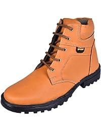 Royal Cliff Men's Faux Leather Boots - B01M7PLZQ5