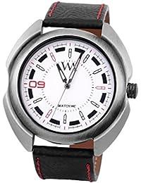 Watch Me White Men Genuine Leather Swiss Wrist Watch Watch Me-077-Wx