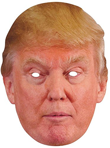 Trump and Clinton Halloween Costumes - Choose Edgy or Funny - Forum Novelties 76938 Trump Adult Costume Mask, Donald