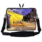 Meffort Inc 13 13.3 Inch Neoprene Laptop Carrying Case Sleeve Bag With Hidden Handle And Adjustable Shoulder Strap... - B00DTW7KYK