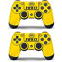 Elton PS4 Controller Designer 3M Skin For Sony PlayStation 4 DualShock Wireless Controller - Fifa - 17, Skin For Two Controller