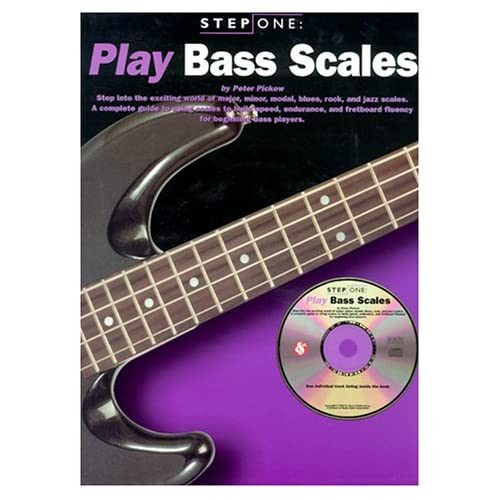 Play Bass Scales: Step One Pickow, Peter