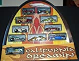 Hot Wheels California Dreamin' HUGE 10 Car Set / 1:64 Scale - New and Sealed!! by Hot Wheels
