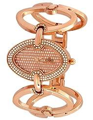 Elite Model's Fashion Analog Bronze Dial Women's Watch - E51064G/805