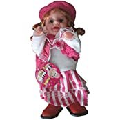 Cute Collectible Baby Doll In Hot Pink Stylish And Clothes