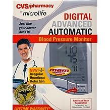 Cvs Microlife Digital Advanced AUTOMATIC Blood Pressure Monitor BP3AC1-1PC