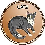 Keepsake Awards Cats Gold Award Pin