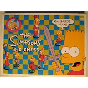 Click to buy The Simpsons Chess 3D from Amazon!