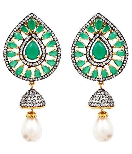 Akshim Multicolour Alloy Earrings For Women - B00NPY99YG