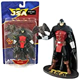DC Direct Year 2007 Series 1 Justice Society of America JSA 6-1/2 Inch Tall Action Figure - DR. MID-NITE with Pet Owl Hooty and Display Base