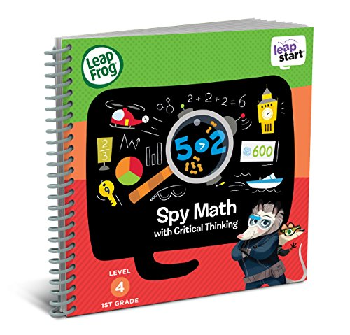 Leap Frog Leap Start 1st Grade Activity Book: Spy Math And Critical Thinking