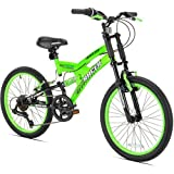 "20"" Thruster Dirt DS Boys Mountain Bike, Green"