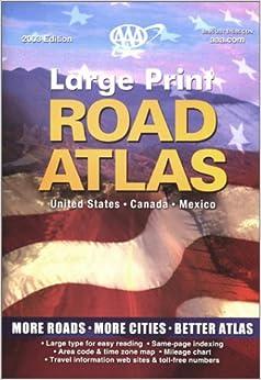 AAA Interstate Road Atlas, 2002
