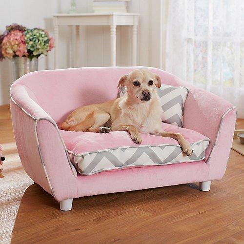 Cute Pink Dog Sofa Beds