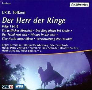 Der Herr der Ringe. Sonderausgabe. 11 CDs. 756 Min