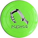 WG Brand KellyGreen, One Size : WG Unisex OW Roadhog OverRoadhog Watch Video Game Character Weapon Logo Outdoor Game Frisbee Ultra Star Yellow