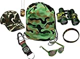 Best Camouflage Tote Bag Filled With Toy Army Items Bundle