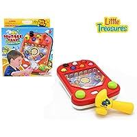 Pinball Game Hammering Pinball Table Top Fun Educational Game For Preschool Kids & Older