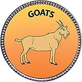 Keepsake Awards Goats Silver Award Pin