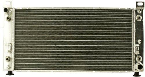 Shepherd Auto Parts 1 Row w/ EOC w/ TOC High Performance All Alumium Engine Radiator
