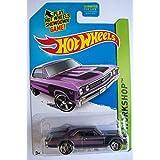 2014 Hot Wheels Hw Workshop - 67 Chevy Chevelle SS 396 - Purple