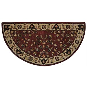 Uniflame Red Hearth Rug