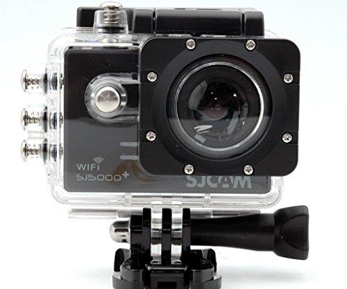SJCAM original SJ5000 Plus WiFi Ambarella A7LS75 16MP de 1.5 pulgadas 1080P 60FPS con 170 ° Lente Gran Angular Deporte Acción cámara exterior impermeable Cam DV Videocámara HD DVR coche para Bicicletas / Motocicletas / Buceo / Natación, Color Negra
