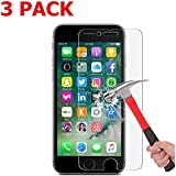 IPhone 7 Plus Screen Protector 2 Pack Asstar Tempered Glass Scratch-Resistant 9H Hardness Crystal Clear Bubble...
