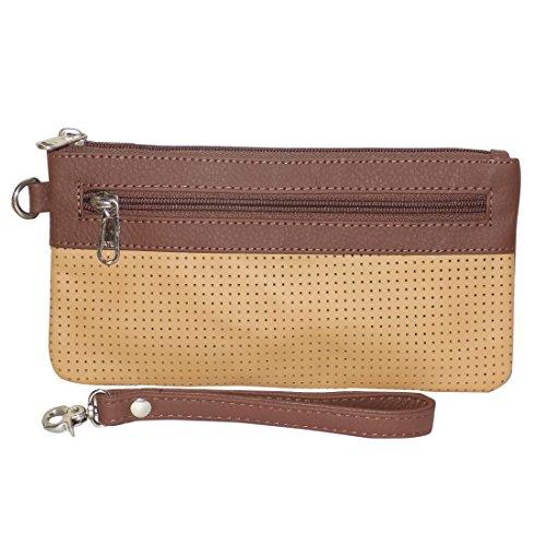 Style98 100% Leather Unisex Multi Purpose Toiletry Bag||Toiletry Kit||Toiletry Pouch||Handbag||Travel Toiletry... - B071HQLJTM