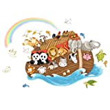 Roommates Noah's Ark Giant Wall Decal