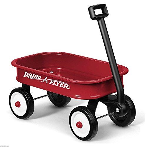 Radio Flyer Little Red Toy Wagon. Kids Gift Present Boy Girl Fun Steel Hauling - B01DO3EHB2