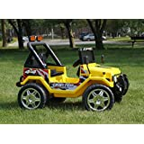 Smartwheels. Battery Operated 12 V Ride On Toy Car For Kids Jeep Style Remote Control.