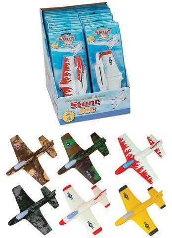 Foam Stunt Jet (Styles Vary) Two Dozen Thats 24 Jets!!!