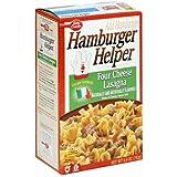 Hamburger Helper Four Cheese Lasagna Pasta & Sauce Mix 5.5 Oz (Pack Of 12)
