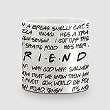 Amey Friends Quotes Coffee Mug - 325 Ml