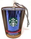 "Starbucks Disneyland Park Exclusive 60th Diamond Celebration Birthday Anniversary Cold Cup 3"" Ornament"
