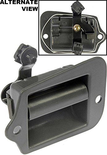 APDTY 85411 Interior Inside Door Handle Fits Rear Left 1996-2003 Chevy S10 GMC Sonoma (OE Plastic Design; Replaces GM 15760310, 19211052)