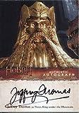 The Hobbit Desolation Of Smaug Autograph Card Jeffrey Thomas as Thror, King under the Mountain