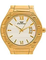 Ciemme Women's Luxury Steel Gold Swiss Quartz Movement Golden Strap White Dial Wristwatch - B01LEIPOV6