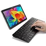 SPARIN® Ultra Slim Mini Bluetooth Keyboard For Samsung Galaxy Tab A (9.7, 8.0 Inch), Samsung Galaxy Tab 4 (10.1...
