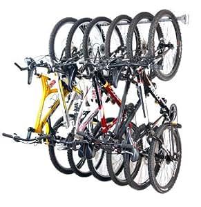 Amazon.com: Monkey Bars Bike Storage Rack, Stores 6 Bikes