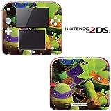 Teenage Mutant Ninja Turtles TMNT Decorative Video Game Decal Cover Skin Protector for Nintendo 2Ds