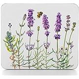 Ashdene I Love Lavender 4.4-Inch By 3.8-Inch 6-Piece Coaster Set In Gift Box