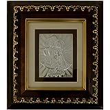 Taksaliya Jeweller Silver Radha Krishna Idol (12 Cm X 10 Cm X 1 Cm, Silver, 21)