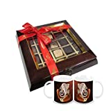 Chocholik Belgium Chocolate Gifts - Quintessential Collection 25 Pc Box With Diwali Special Coffee Mugs - Gifts...