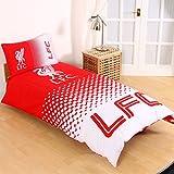 Liverpool FC Fade Single Duvet Cover and Pillowcase Set
