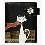 New Travelling Cat Black Small Woman's Wallet By Shagwear